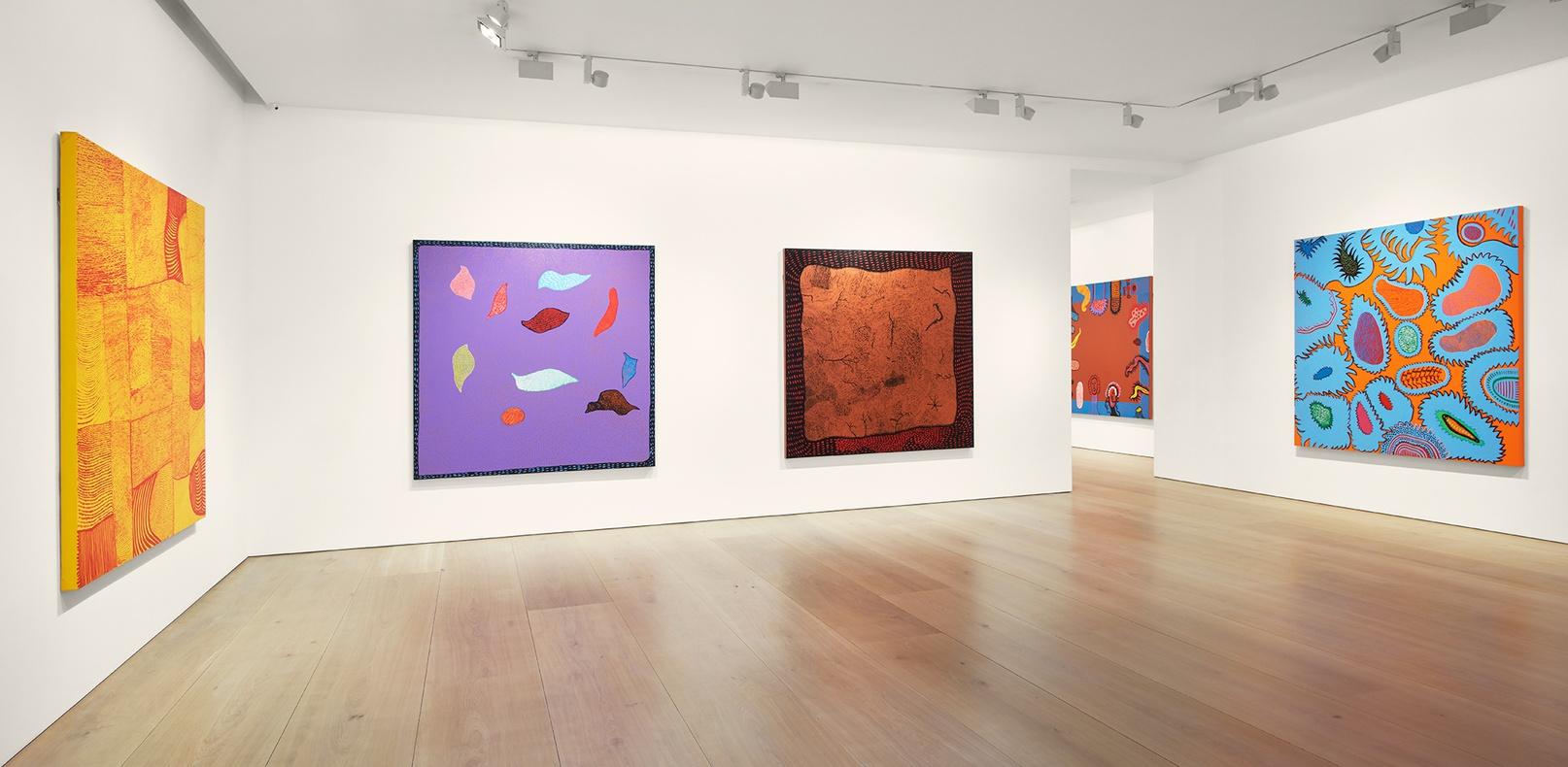 Yayoi Kusama My Eternal Soul Paintings Exhibitions